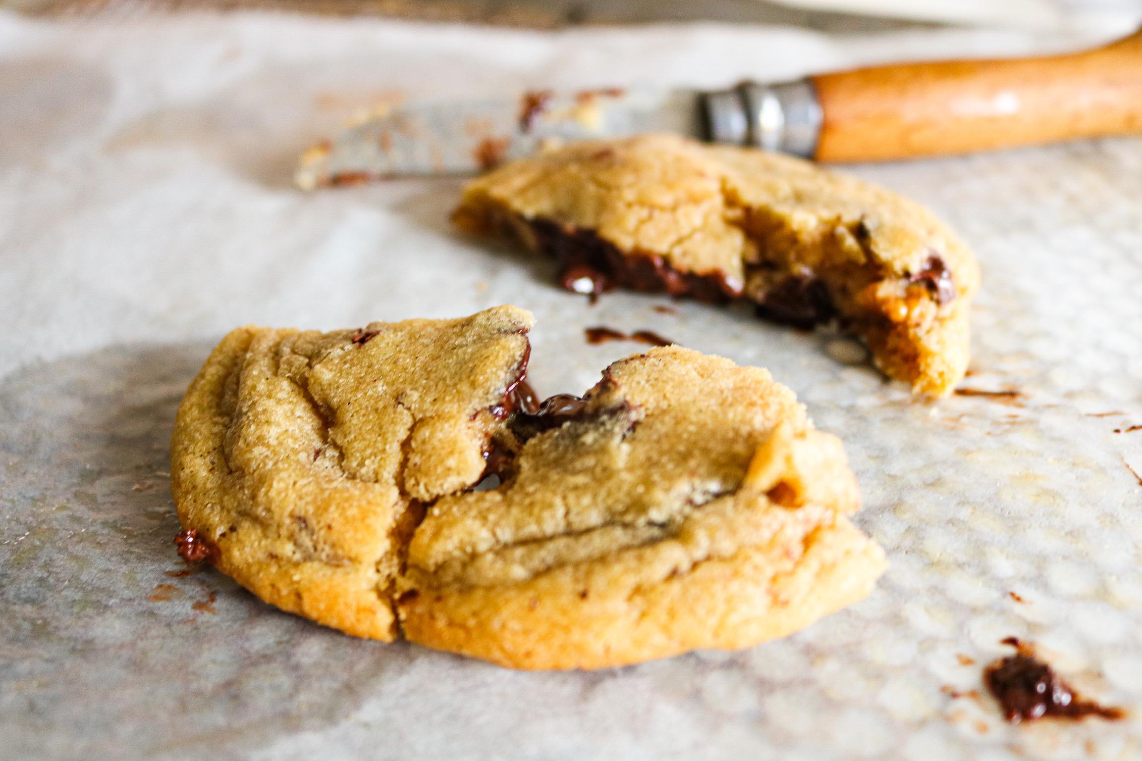 recette cookies coeur fondant